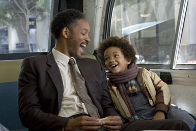A shot from : The pursuit of Happyness
